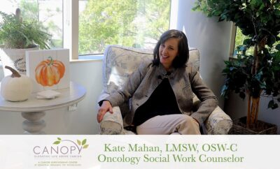 Canopy cancer survivorship center at Memorial Hermann Counseling Kate Mahan
