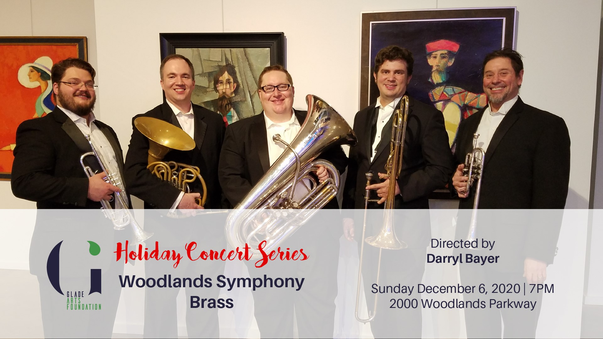 Holiday Concert Series Woodlands Symphony