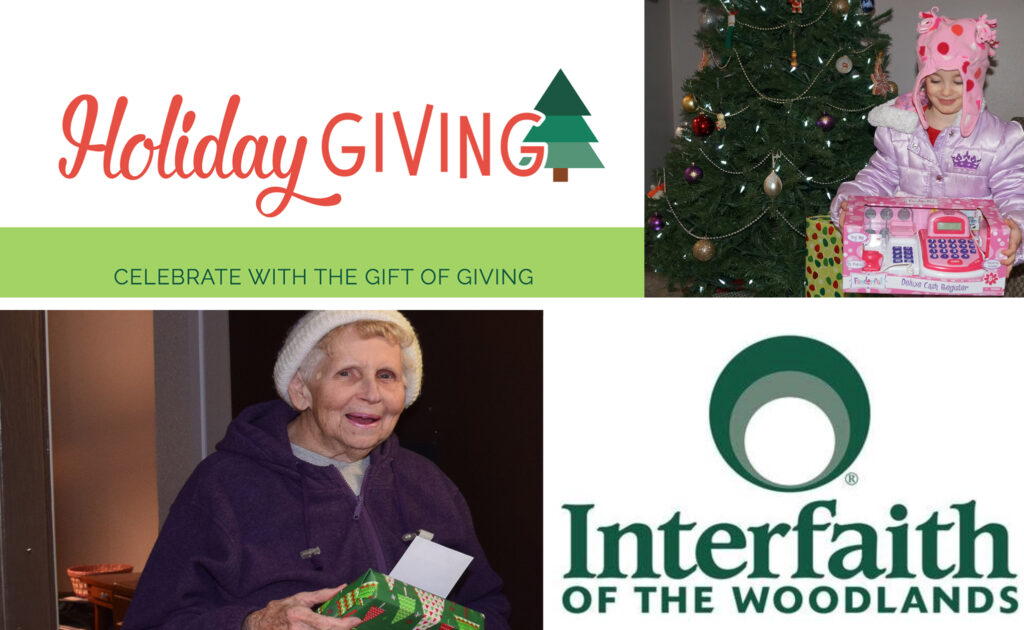 Holiday Giving Interfaith of the Woodlands