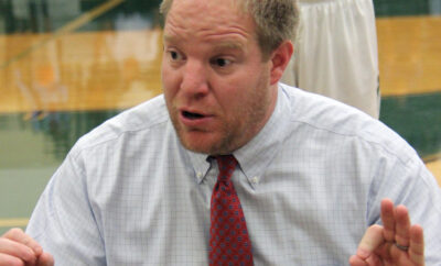 John Cooper School girls basketball head coach BJ 2020