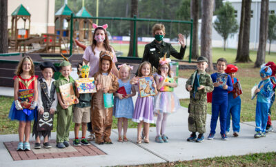 The Woodlands Christian Academy's lower school hosted a Storybook Parade