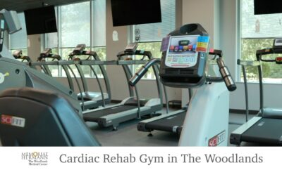 New Expanded Cardiac Rehabilitation Gym at Memorial Hermann The Woodlands Medical Center