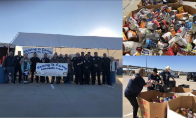 "MCTXSheriff Holds Their Annual ""Sharing is Caring"" Food Drive"