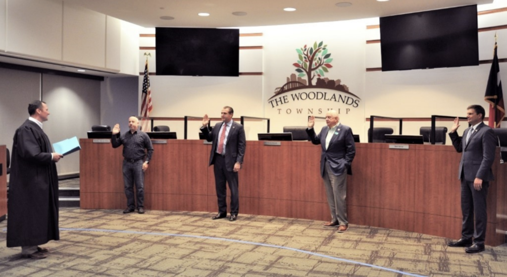 The Woodlands Township Board holds meeting, swears in newly elected Directors