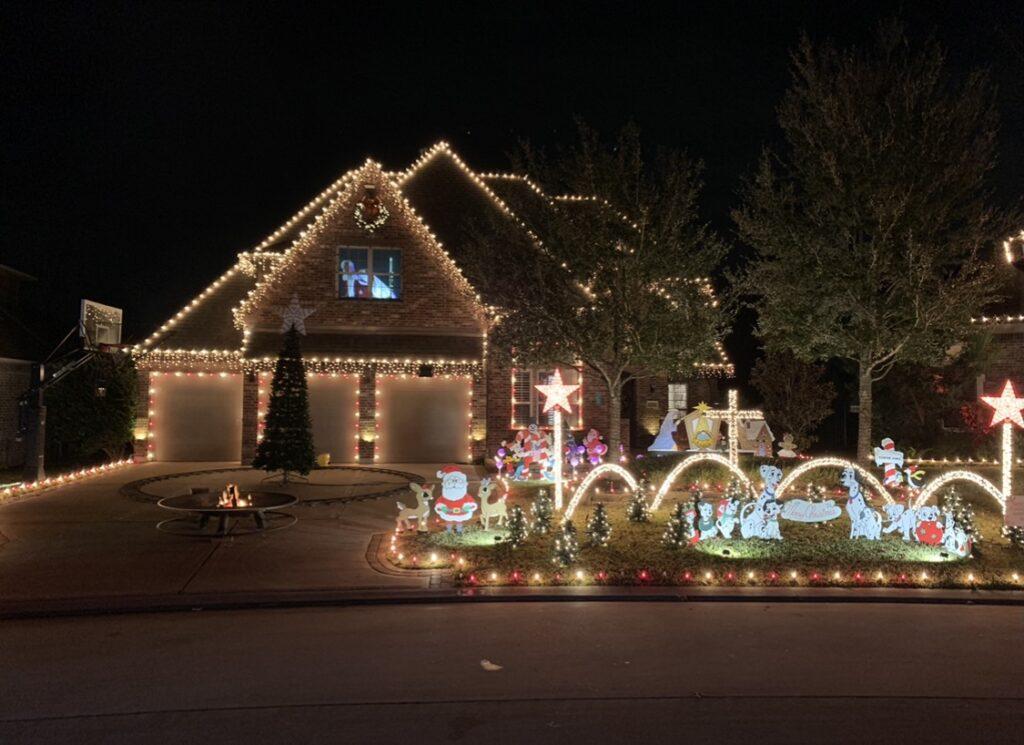 Spring Basket Trail Christmas Lights 2020