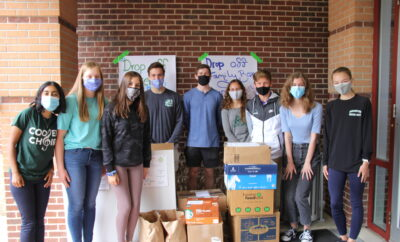 montgomery county food bank interact club 2020 drive