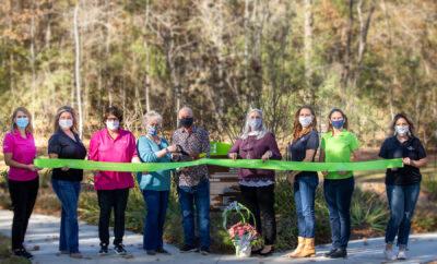 Dauzat Peace Park Dedication