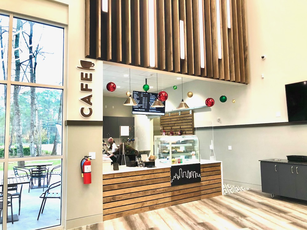 WoodsEdge Coffee House in The Woodlands