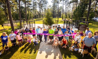 Dog Park in The Woodlands Hills - Dedication