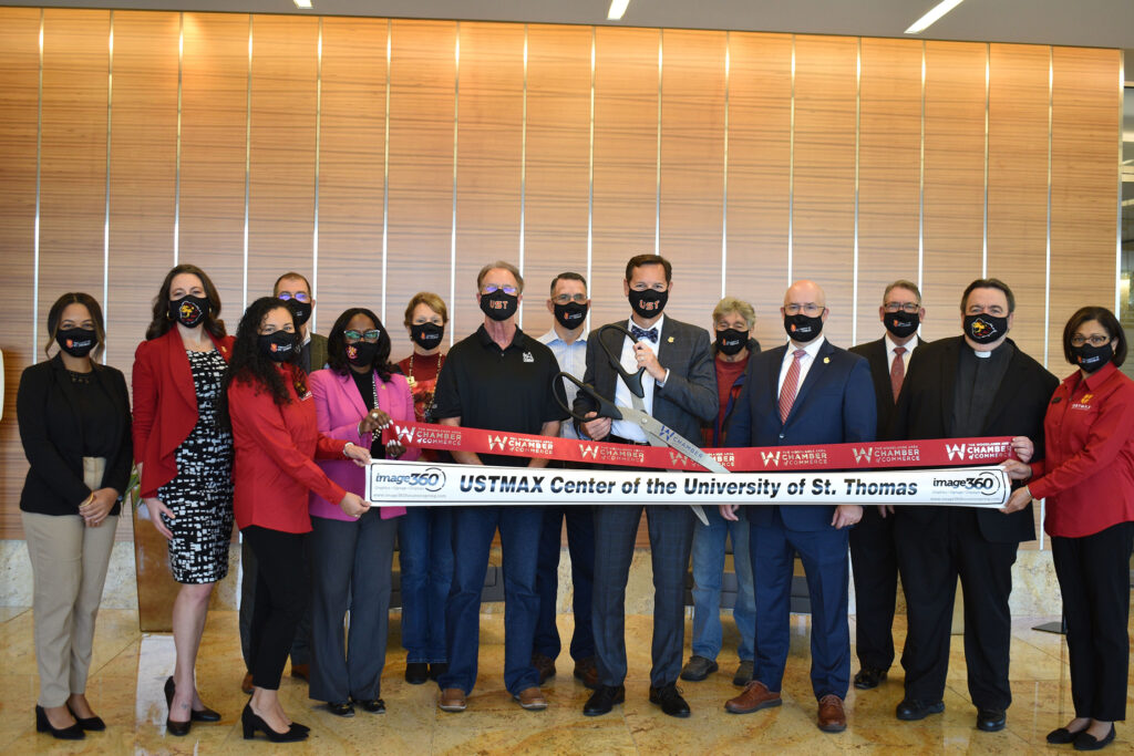 The Woodlands Area Chamber of Commerce Celebrates the USTMAX Center Opening with a Ribbon Cutting Ceremony