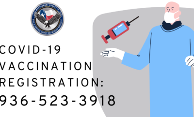call center on Monday morning to begin registering our 65 and older population for the COVID-19 Vaccine