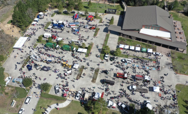 PHOTO: The Woodlands Township's popular Touch-A-Truck event has been postponed to Saturday, November 6, 2021, at The Recreation Center at Rob Fleming Park.