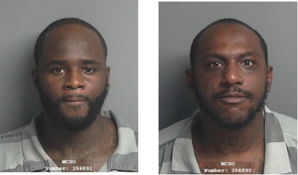 (Left) Ja Michael Cruse, a 27-year-old male, and (Right) Khoury Thomas, a 29-year-old male