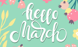 Hello March - background