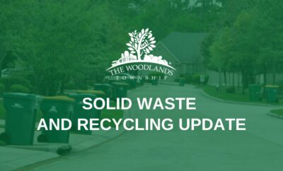 Solid Waste Recycling Trash Update