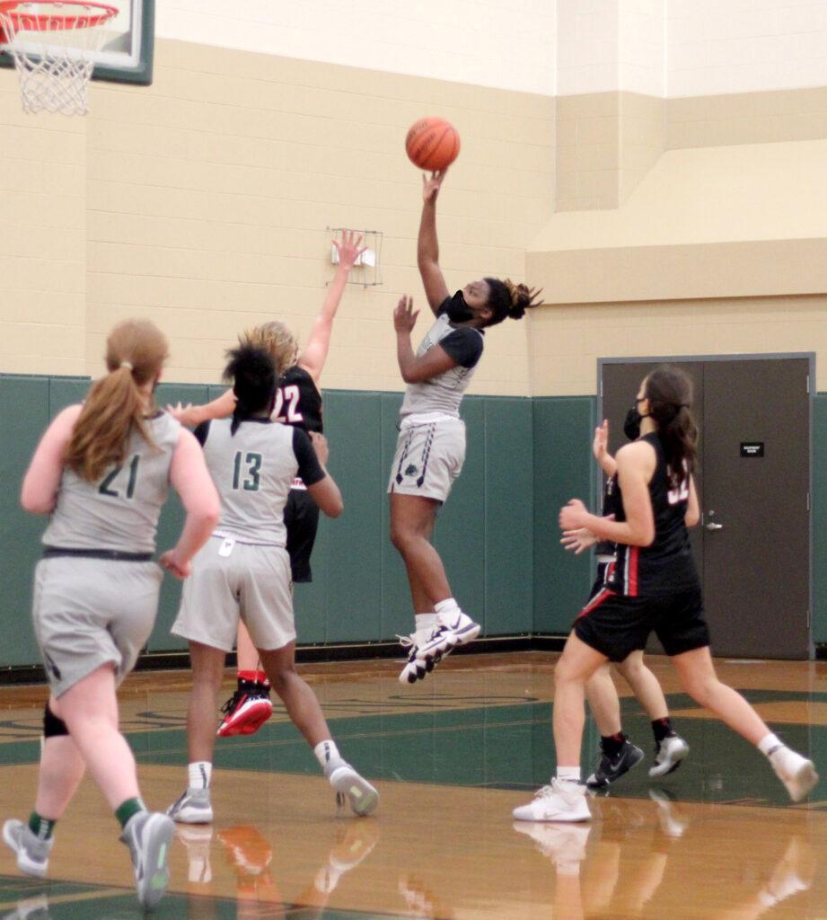John Cooper school dragon sports girls basketball team 2021