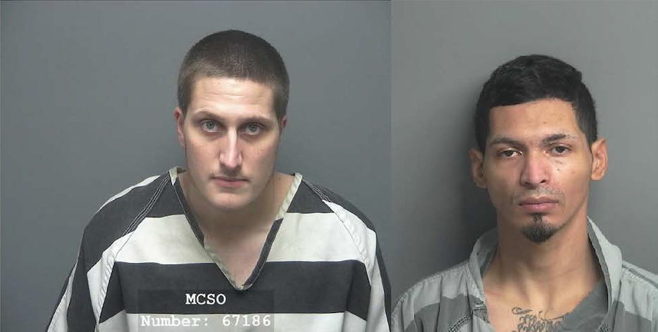MCTXSheriff Arrest Two in Vehicle Burglary