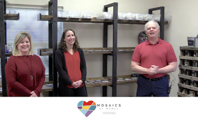 Mosaics of Mercy Nonprofit of the Month Hello Woodlands