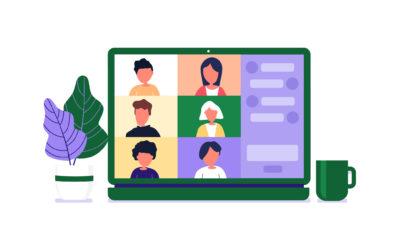 Zoom Online Class Computer 2021