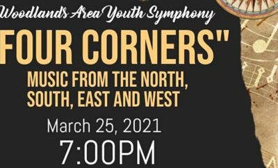 Four Corners WAYS Woodlands Area Youth Symphony Concert 2021