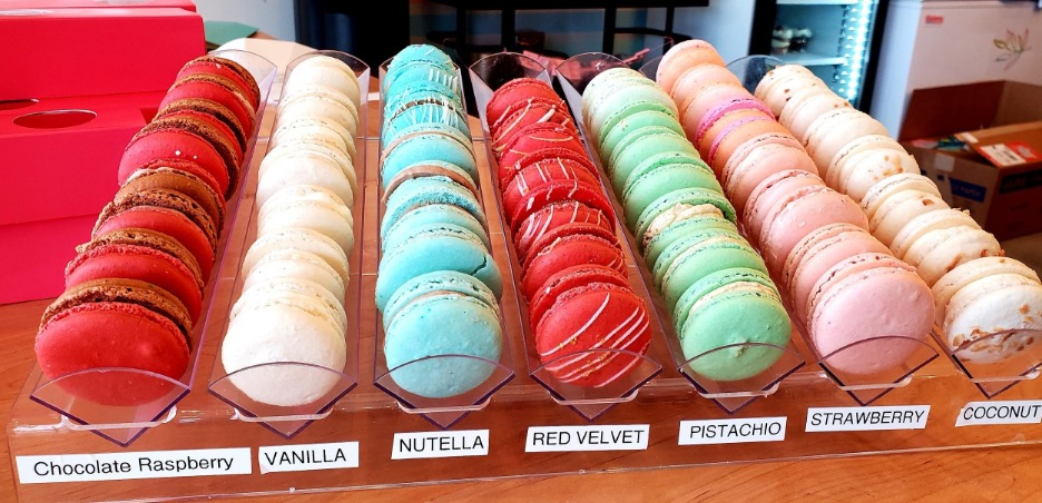French Macarons. Photo by Nick Rama