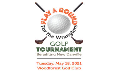 Play a Round for the Wranglers 2021 New Danville Golf Tournament Cover