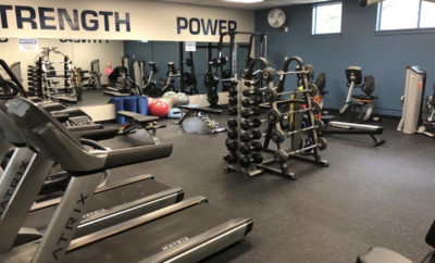 Recreation Center Bear Branch The Woodlands 2021 Fitness Room Renovation