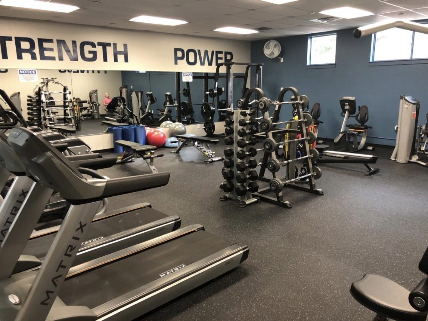 The Recreation Center At Bear Branch Park Renovates Fitness Room Hello Woodlands