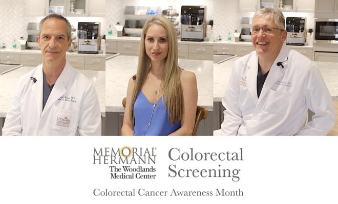 Colorectal Cancer Screening at Memorial Hermann The Woodlands Medical Center