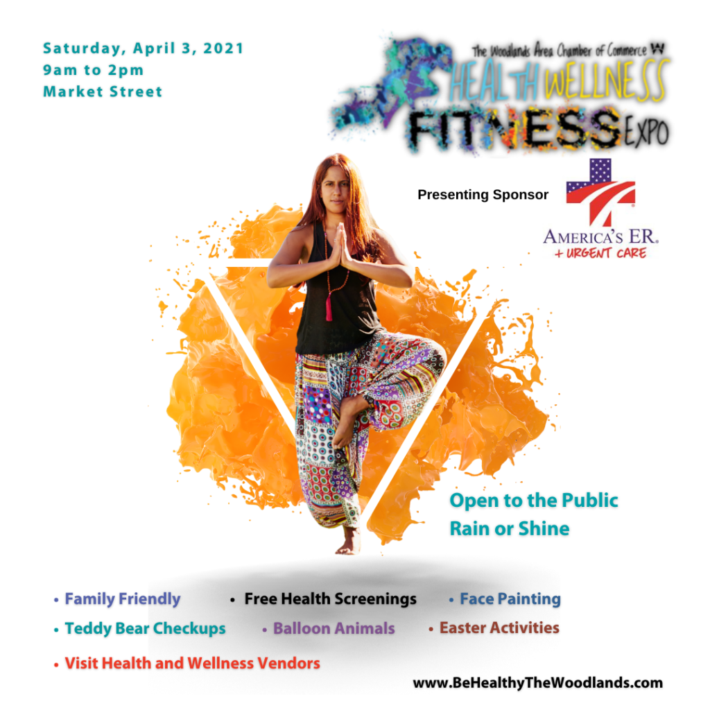2021 Health Wellness Fitness Expo Woodlands Area Chamber of Commerce Market Street
