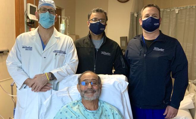 houston methodist woodlands hospital transcatheter aortic valve replacement (TAVR) 2021