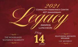 2021 Community Assistance Center 40th Anniversary Legacy Awards Luncheon