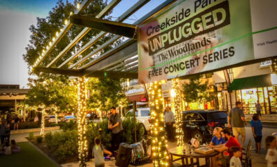 Creekside Park Unplugged The Woodlands