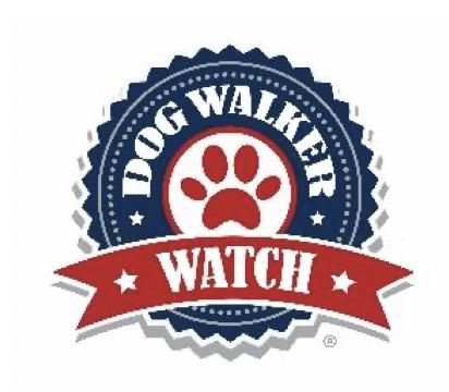 Dog Walker Watch no date Yappy Hour Woodlands Neighborhood Watch