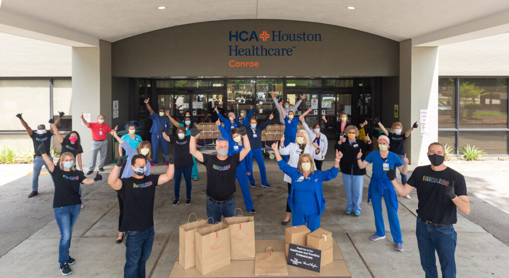 HHCares initiative HCA Hospital Howard Hughes Corporation