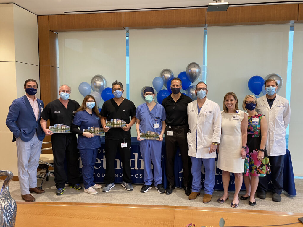 Houston Methodist The Woodlands Hospital Physicians of the Year 2021