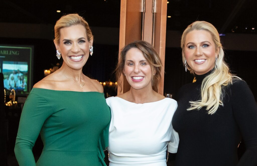Photo Caption #2: (l-r) Missy Herndon, President & CEO Interfaith of The Woodlands, DeAnn Guidry and Nicole Murphy, The Woodlands Celebration of Excellence 2021 Co-Chairs Photo Courtesy Jen McDonald Photography