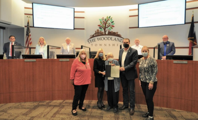 In remembrance of Reverend Donald (Don) R. Gebert, the Board of Directors proclaimed Wednesday, March 31, 2021 as Reverend Don Gebert Day. Reverend Gebert was the founding Executive Director of The Interfaith Center and was instrumental in the creation of The Woodlands Resident Directory, The Woodlands Child Development Center, The Woodlands Villager, Montgomery County Youth Services and The Woodlands Hospital.