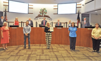 In support of the monarch butterfly population and to help restore habitat for the monarch and encourage citizens to do the same, the Board of Directors proclaimed April 28, 2021, as Monarch Butterfly Day in The Woodlands, Texas.