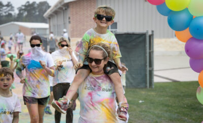 Woodlands Christian Academy Color Run 2021
