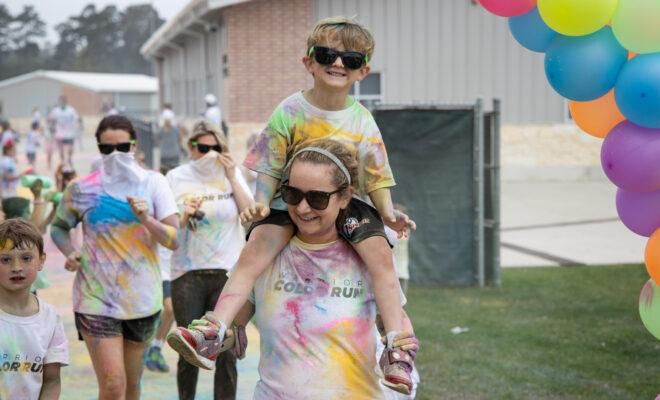 Woodlands Christian Academy Color Run 2021