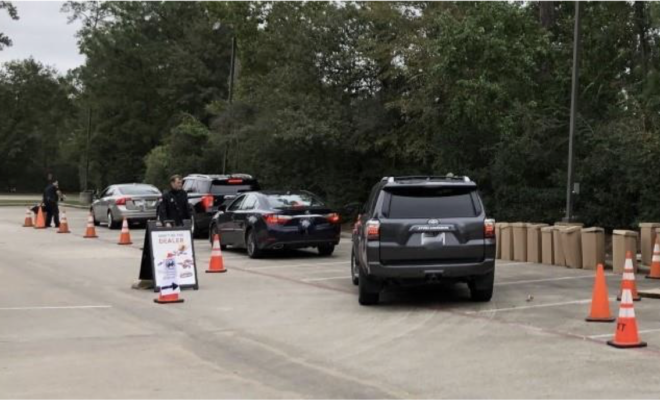 Woodlands Township Neighborhood Watch Prescription Drug Take Back Day Drive Thru Event
