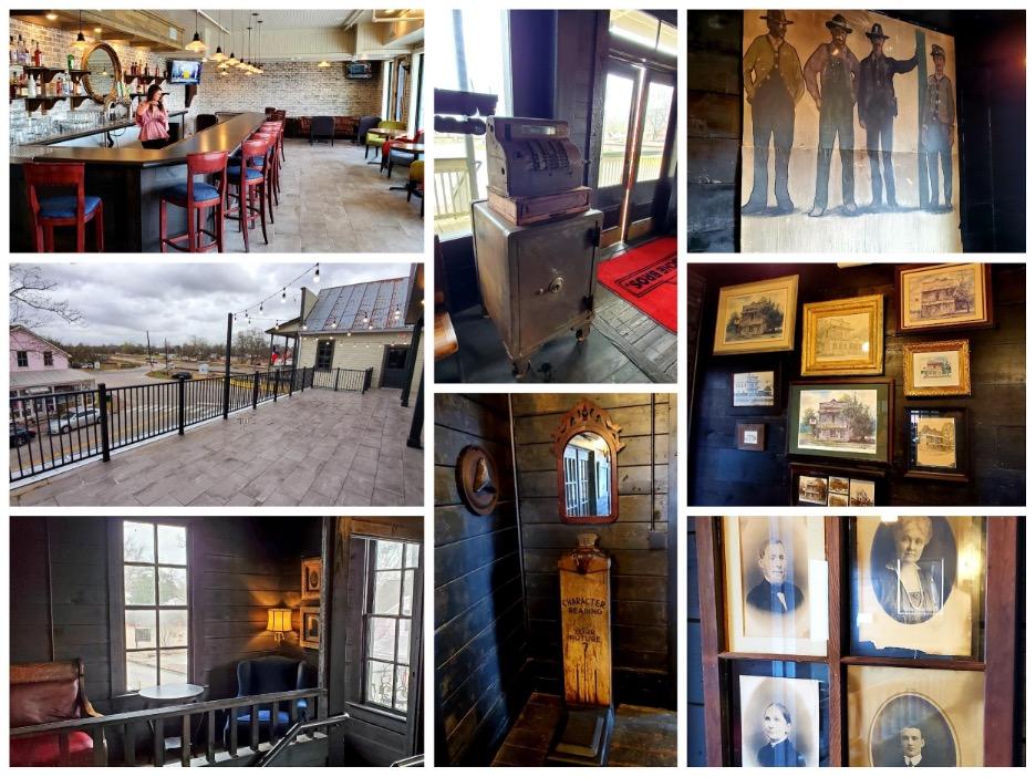 Photo by Nick Rama; New upstairs bar lounge, new balcony, original photos, paintings and artifacts.