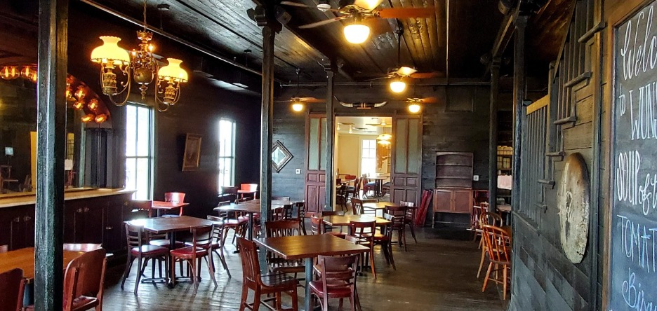 The historic Wunsche Bros. Cafe & Saloon has been closed since 2015 due to fire damage, and is now open thanks to the new owners who bought it in March 2017. Husband and wife Casey and Nancy Kosh, who also own Amerigo's Grille in The Woodlands, are reinvigorating this historic spot.
