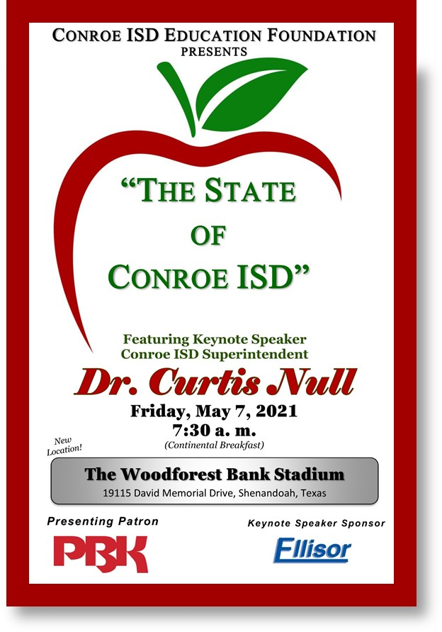 state of conroe isd may 2021