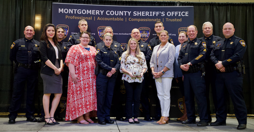 Montgomery County Sheriffs Office Awards May 27 2021 Photo by Hello Woodlands Jennifer Bruse