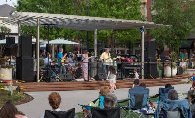 Market Street The Woodlands Memorial Day Concert
