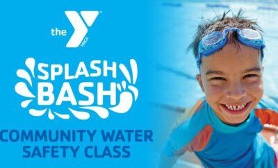 Splash Bash Water Safety Class YMCA Woodlands Texas