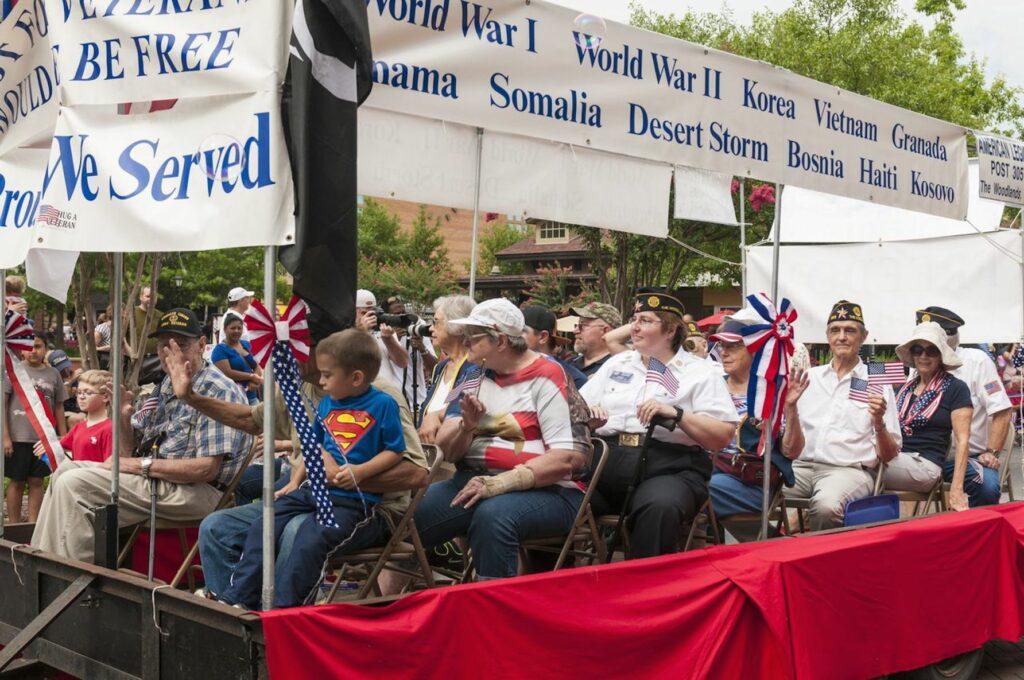 4th of July Parade veterans Market Street
