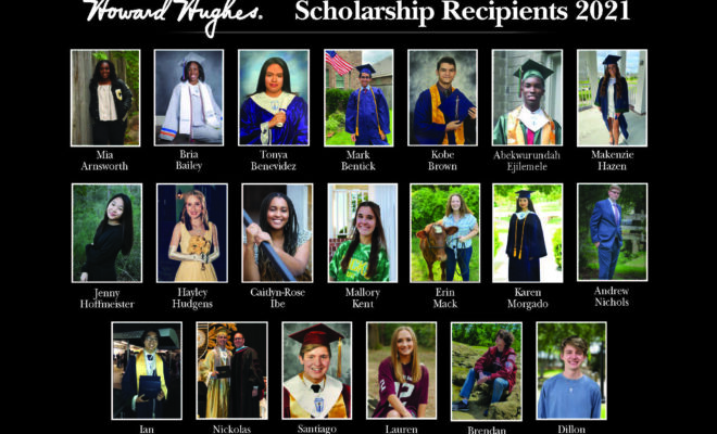 HH 2021 Scholarship Recipients Howard Hughes